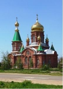 Свято-Троицкий храм станицы Казанской
