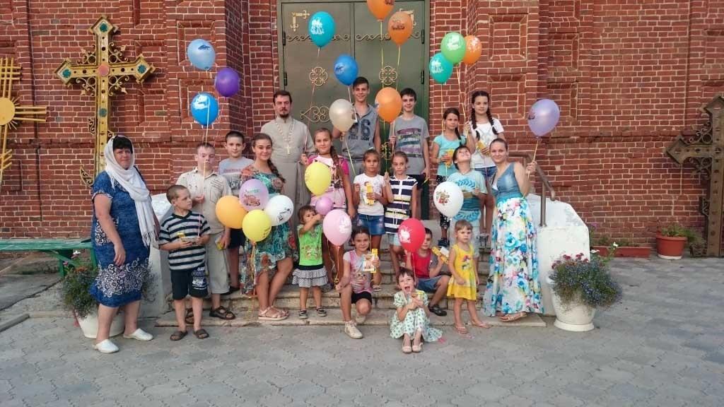 22 августа в ст. Казанской при Свято-Троицком храме состоялось закрытие летней православной площадки «Родник»