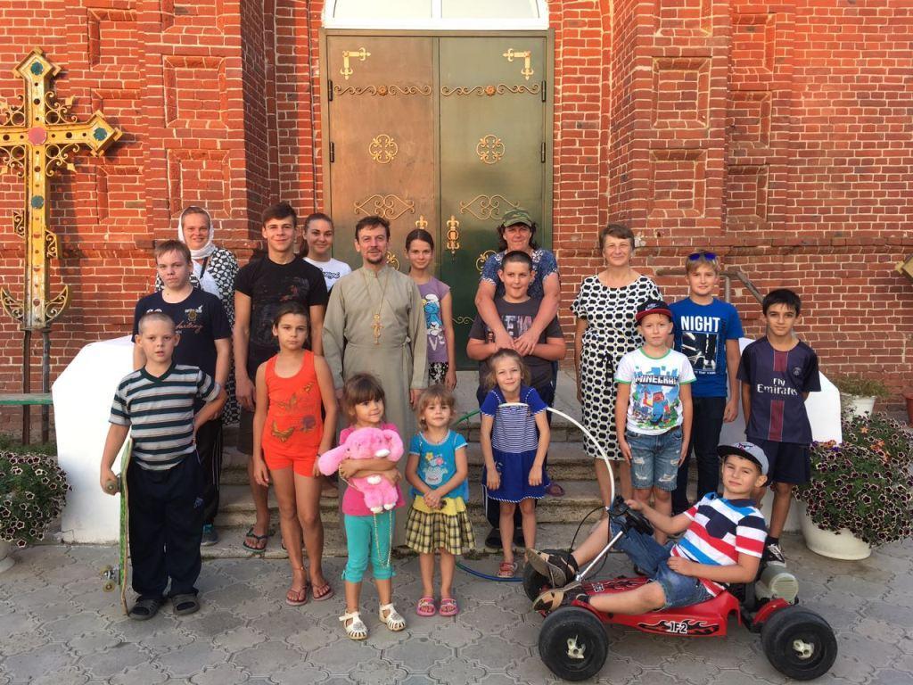 25 августа в ст. Казанской при Свято-Троицком храме состоялось закрытие летней православной площадки «Родник»