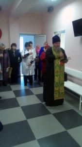Освящение фельшерско-акушерского пункта в хуторе Привольный Кавказского района