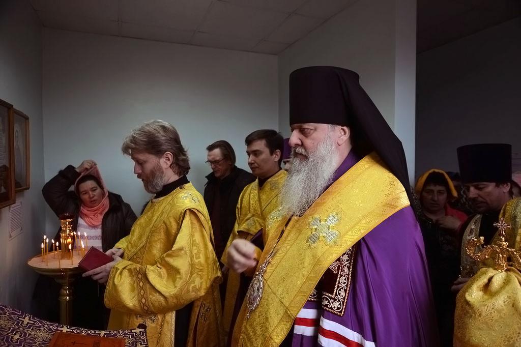 11 февраля 2018 года епископ Тихорецкий и Кореновский Стефан совершил молебное пение в паллиативном отделении станицы Казанской Кавказского района