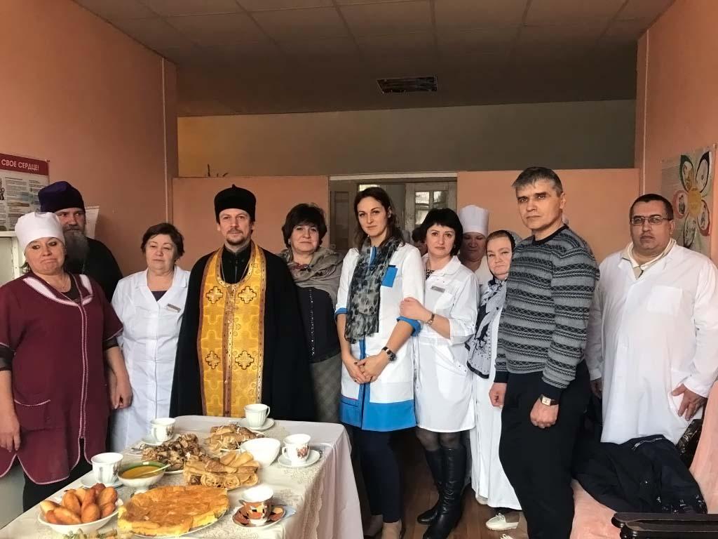 В поселке Мирской Кавказского благочиния Тихорецкой епархии освящена молитвенная комната при паллиативном отделении