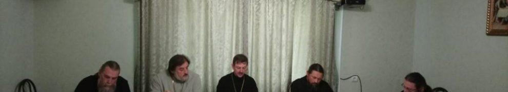 7 сентября 2018 года в Свято-Троицком храме станице Казанской состоялось братское совещание духовенства приходов Кавказского благочиния