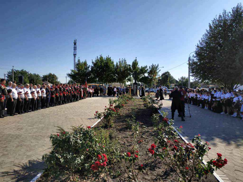 В станице Казанской прошли ежегодные поминовения казачьей сотни Гречишкина