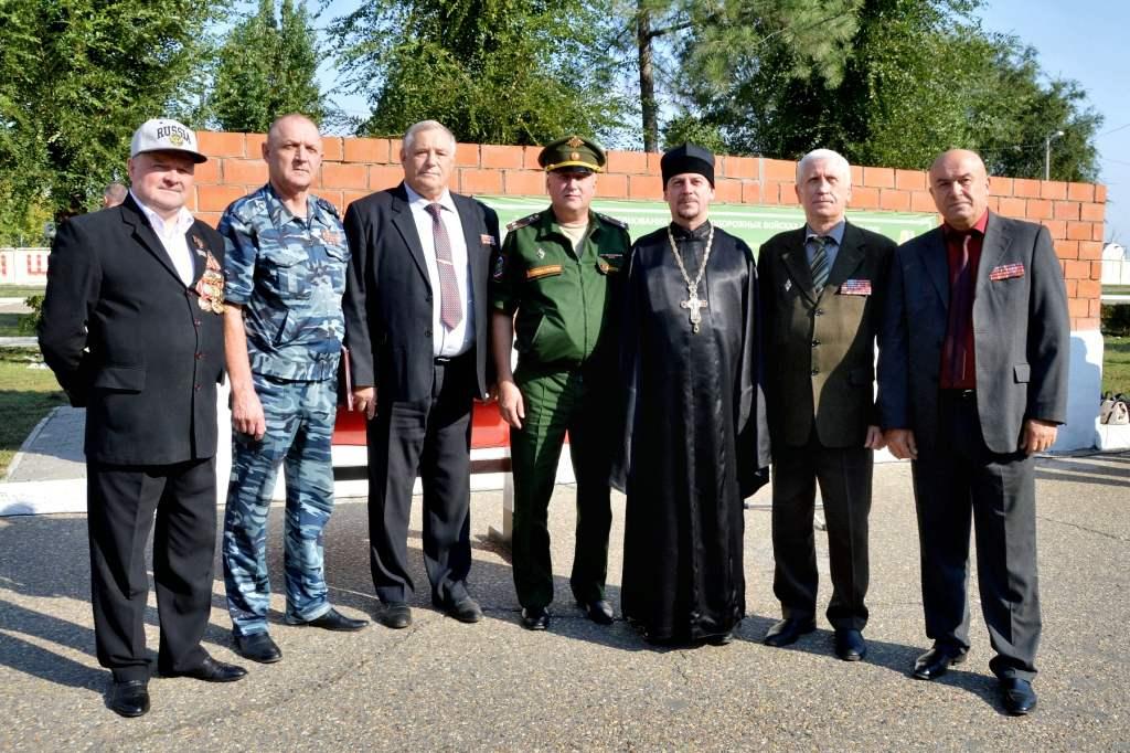 В воинской части станицы Казанской прошло мероприятие посвященное дню призывника