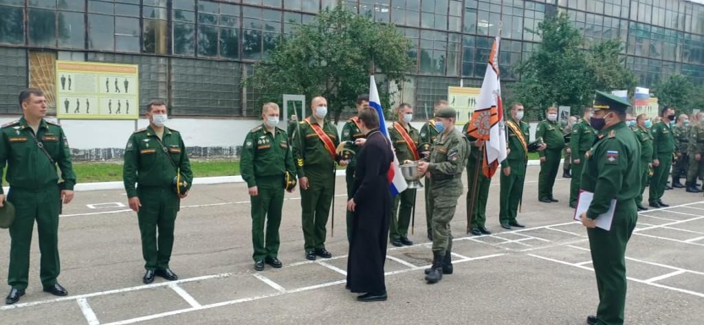 Состоялась запланированная встреча протоиерея Кассиана Кравцова с военнослужащими воинской части №98548